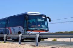 Santa Pola till den Torrevieja bussen Arkivfoton