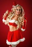 Santa pomocnik sexy Fotografia Royalty Free