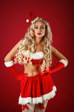 Santa pomocnik sexy Obraz Royalty Free