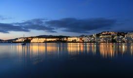 Santa Ponsa semesterort på Majorca Arkivbild