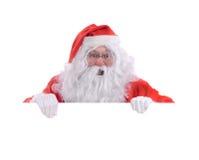 Santa pop up Royalty Free Stock Image