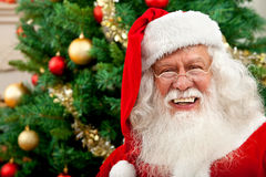 Santa portrait Stock Images