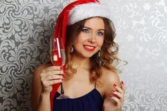 Santa Portrait Stock Photo