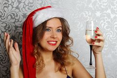 Santa Portrait Royalty Free Stock Images
