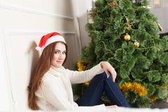 Santa Portrait Fotografía de archivo