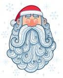 Santa Portrait 2 felice Immagine Stock