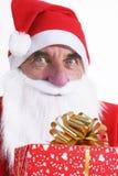 Santa portret Zdjęcia Stock
