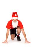 Santa posing Royalty Free Stock Photo