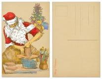 Santa potter Royalty Free Stock Photos