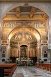 Santa Prassede Basilica royaltyfri foto