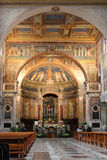 Santa Prassede Basilica Royalty Free Stock Photo
