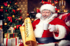 Santa premurosa Fotografia Stock