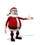 Santa presenting Stock Image