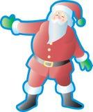 Santa Presenting Royalty Free Stock Photo