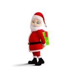 Santa is presenting Merry Christmas Royalty Free Stock Photos