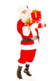 Santa with presents Royalty Free Stock Photos