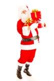 Santa with presents Royalty Free Stock Photos