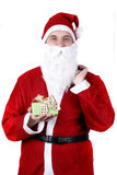 Santa with presents Stock Photos