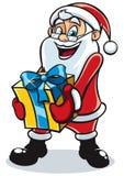 Santa prezent 2 Obrazy Royalty Free
