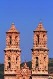 Santa prisca cathedral. In taxco guerrero, mexico Stock Images
