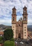 Santa Prisca Church in Taxco de Alarcón, Mexico Stock Photos