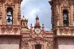 Santa prisca facade Stock Image