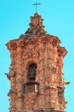 Santa Prisca kyrka i Taxco, Mexico arkivbild