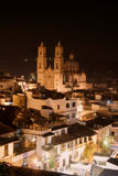 Santa Prisco kyrka, Taxco Royaltyfri Fotografi
