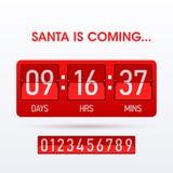 Santa przyjść fotografia royalty free