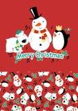 Santa przyjaciele. Fotografia Stock
