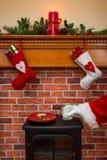 Santa przyjeżdżał Zdjęcie Stock
