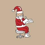 Santa Psychiatrist Royalty Free Stock Image