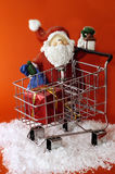 Santa Purchasing Stock Photos