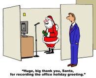 Santa Records Holiday Greeting