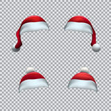 Santa red hat template Stock Photography