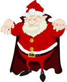 Santa redoutable Photo stock