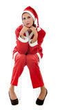 Santa relaks Claus zdjęcia royalty free