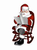 Santa Relaxing 6 Royalty Free Stock Photos