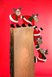 Santa renifer Zdjęcie Stock