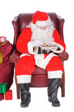 Santa resting Royalty Free Stock Photos