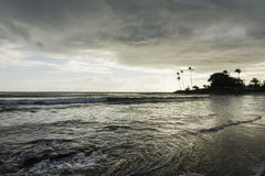 Santa Rita beach in the morning - Sunrise Stock Images