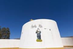 Santa Rita catholic church with clear blue sky, Argentina Stock Photography