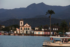 Santa Rita church, Paraty Royalty Free Stock Image