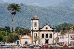 Santa Rita Kościelny Paraty Rio De Janeiro Zdjęcia Royalty Free