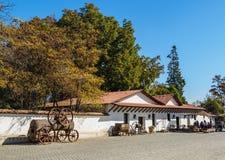 Santa Rita Winery perto de Santiago de Chile fotos de stock royalty free