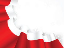 Santa robe frame royalty free stock images