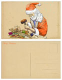 Santa robi Pinocchio Obraz Stock
