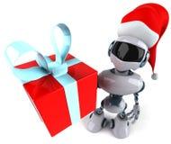 Santa robot Stock Photos