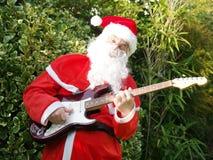 Santa rocks ! Stock Image
