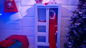 Santa room Royalty Free Stock Images